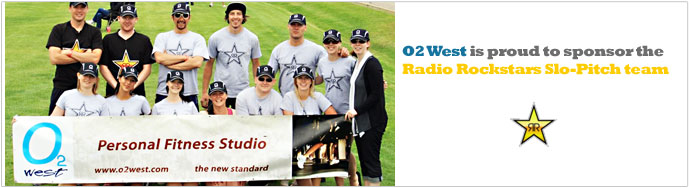 Radio Rockstars Slo-Pitch team